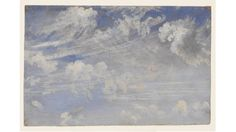 """""""Study of Cirrus Clouds"""" John Constable"""