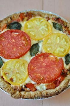 Southern Tomato Pie & A Party Southern Tomato Pie, Pepperoni, Meal Ideas, Entrees, Appetizers, Pizza, Snacks, Meals, Recipes