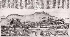 東福寺伽藍図 とうふくじがらんず Tofukuji temple Figure. 雪舟 Sesshu jpssesh58重右衛門_JAPAN | 重右衛門_JAPAN