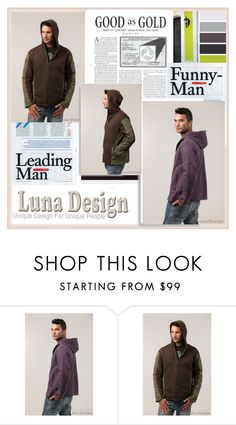 """Luna Design"" by damira-dlxv ❤ liked on Polyvore featuring men's fashion and menswear"