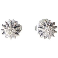 Pre-owned David Yurman Starburst Earrings With Diamonds (340 CAD) ❤ liked on Polyvore