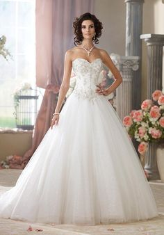 David Tutera for Mon Cheri 214209 McKayla Wedding Dress - The Knot