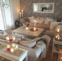 Image via We Heart It #amazing #awesome #beautiful #comfort #comfortable #decor #home #homesweethome #interior #like #luxurious #luxury #relax #relaxing #sweet #уют #отдых #свечи