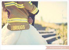 #wedding #fireman #firefighter #firefighterwedding