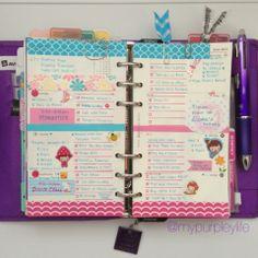 My Purpley Life: My Filofax Week #25