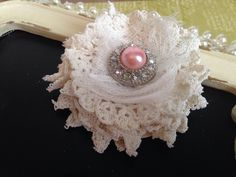 A personal favorite from my Etsy shop https://www.etsy.com/ca/listing/281350784/embellishment-doily-flowers-shabby-chic