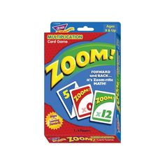 Trend Zoom! Multiplication Card Game
