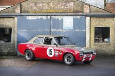 Few of the original Ford Escort MKI works racing cars have survived - which isn't all that surprising when you take a look back at their extensive and Ford Rs, Car Ford, Escort Mk1, Ford Escort, Ford Motorsport, Aussie Muscle Cars, Under The Hammer, Porsche 914, Ford Classic Cars