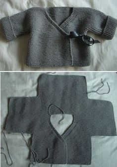 Collection of Knit Baby Sweate |