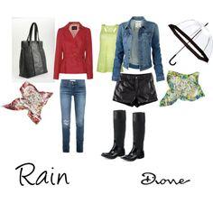 """Rain Ginny"" by dionemoda on Polyvore"