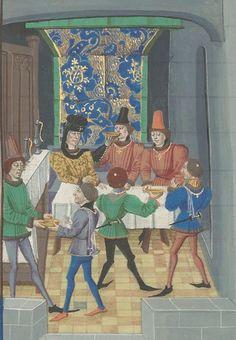 Regnault de Montauban, rédaction en prose. Regnault de Montauban, tome 4 Date d'édition :  1451-1500  Ms-5075 réserve  Folio 21r