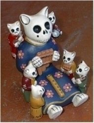 Day of the Dead kittehs!
