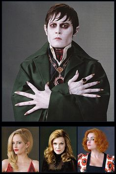 Tim Burton's Dark Shadows 2012 Characters - Movies Photo (29461623) - Fanpop fanclubs