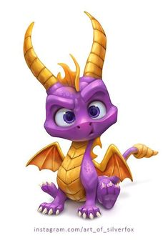 super dragon is a dragon teaching goods matters to other kids Disney World Tumblr, Fantasy Creatures, Mythical Creatures, Baby Dragon Tattoos, Game Character, Character Design, Cute Dragon Drawing, Spyro And Cynder, Spyro The Dragon