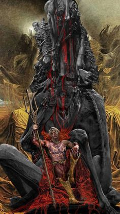 My love letter to Beksinski and Son of Satan. Daimon Hellstrom reclining on the macabre Throne of Desolation in Inferno contemplating his next imperious. Son of Satan WIP Marvel Comic Character, Comic Book Characters, Marvel Movies, Marvel Art, Marvel Dc Comics, Marvel Heroes, Daimon Hellstrom, Heroes Reborn, Dark Anime Guys