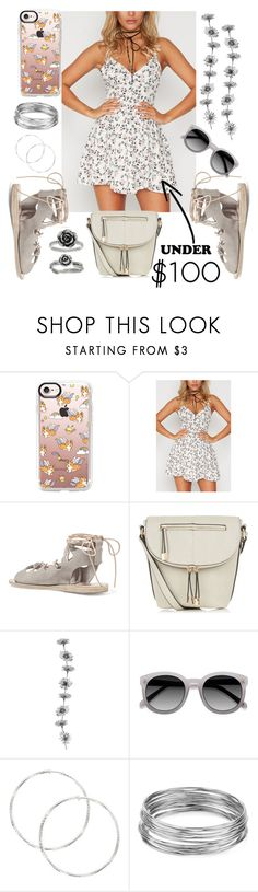 """Under $100: Summer Dresses"" by mdfletch ❤ liked on Polyvore featuring Casetify, Ancient Greek Sandals, Aqua and under100"