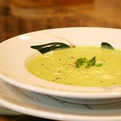 Fresh Asparagus Soup  (photograph by Tommi Fumimoto for Allrecipes.com) 167 calories per serving