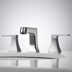 Vantage Widespread Lavatory Faucet - Chrome
