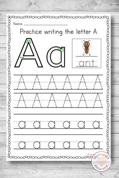 Help your kids practice and develop their writing skills with this awesome worksheet pack. These letter formation worksheets are perfect for those little learners who are just starting with their ABCs. There's all 26 letters included, with both upper and lowercase letters to trace. Grab the letter tracing worksheets over at Nurtured Neurons today! #lettertracing #letterformation #prewriting #writingskills #preschoolworksheets #kindergartenworksheets #letterworksheets #abc #alphabet #letters Letter Tracing Worksheets, Tracing Letters, 26 Letters, Kindergarten Worksheets, Lower Case Letters, Name Practice, Writing Practice, Pre Writing, Writing Skills