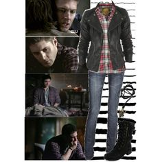Dean Winchester Style- This is the best, closest thing I've seen on Pinterest. Three cheers.