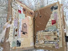 zatoka wspomnień: Mój podróżny Junk Journal