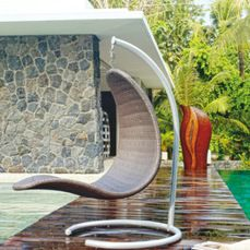 Christy Outdoor Hanging Chair from Skyline Design