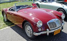 Old classic cars: Mg classic cars