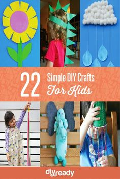 22 Simple DIY Crafts For Kids | DIY Arts and Crafts for Kids