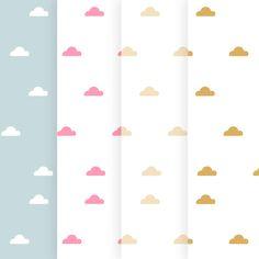 ☁☁ Nubes de vinilo ☁en 25 COLORES a elegir ☁☁ Para la habitación infantil o del bebé. https://dolcevinilo.es/vinilo-infantil-nubes