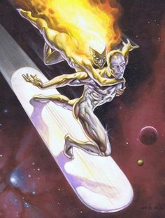 SILVER SURFER AND NOVA