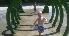 Portland-Area Water Parks, Fountains, and Features