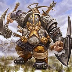 Dwarves; Creatures of the the 7th realm Dvergar, The Dwarves are expert crafters which make some of the mightest weapons, even Thors mighty hammer Moinr.