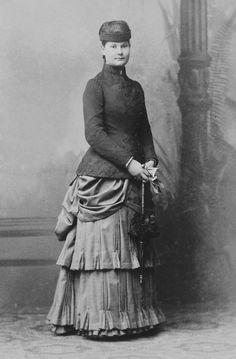 Princess Marie Amálie of Württemberg circa 1883