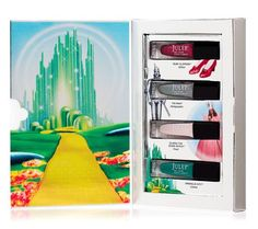 Off to see the wizard?  Take the Julep Wizard of Oz Nail Collection with you my pretties