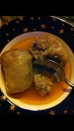 Yugoslavian SARMA (cabbage leaf stuffed with meat, rice and seasoning). - Vesna Konzack Ex Stankovic - Yugoslavian SARMA (cabbage leaf stuffed with meat, rice and seasoning). Yugoslavian SARMA (cabbage leaf stuffed with meat, rice and seasoning). Slovenian Food, Austrian Cuisine, Macedonian Food, Cabbage Leaves, Croatian Recipes, Cabbage Rolls, Russian Recipes, Dessert, Family Meals