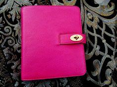 innocent+twisted Life: 08.08.14 - MULBERRY Postman's Lock Agenda (Pink Glossy Goat)