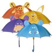 Зонт-трость детская Impliva Animals CN731