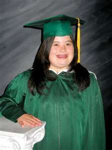 A great story about a girl born with Down syndrome's graduation from high school! :)
