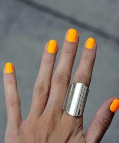 Orly Neon Orange.
