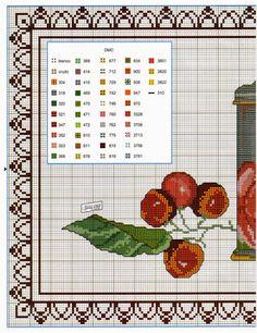 Lú cantinho do bordado e da cozinha: PONTO CRUZ (PASSADEIRA DE MESA) 01