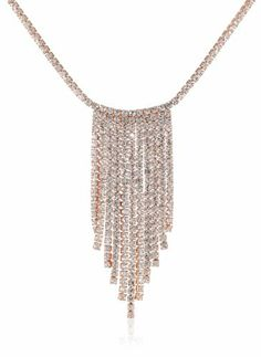 "Oroclone ""Crystal Set"" 14k Rose Gold Plated Crystal Seven Row Necklace, 16"" Oroclone,http://www.amazon.com/dp/B00FS6XT22/ref=cm_sw_r_pi_dp_o79otb12479GVFWX"