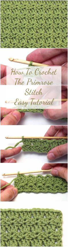 Learn how to crochet Primrose stitch pattern for a baby blanket, scarf hat etc. by following this simple, quick and step by step tutorial with a free video.  | Crochet Sweater | Crochet Patterns | Crochet Pullover | DIY Shawl Crochet Ideas | Crochet Tutorials For Beginners | Beginners Crochet Video Youtube | Crochet Stitches | Crochet Hats Scarf Scarves Beanie | Free Crochet Patterns | Unique Crochet Projects & Ideas | Easy & Simple Video Tutorials | Top And Unique Stitches | For Baby…