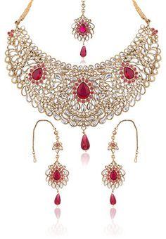 Suhani Kundan Necklace Set #MyYDHDLook