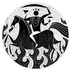 nina paley's dasavatara - kalki, the avatara of the future