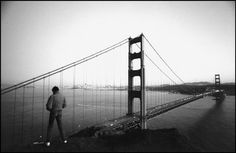SAN FRANCISCO—The Golden Gate Bridge, 1982.  © Raymond Depardon / Magnum Photos