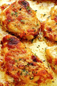 Melt In Your Mouth Baked ChickenYou can find Chicken breast dinner recipes and more on our website.Melt In Your Mouth Baked Chicken Chicken Breast Recipes Dinners, Chicken Parmesan Recipes, Yummy Chicken Recipes, Chicken Flavors, Easy Dinner Recipes, Meat Recipes, Best Baked Chicken Recipe, Pasta Recipes, Moist Baked Chicken
