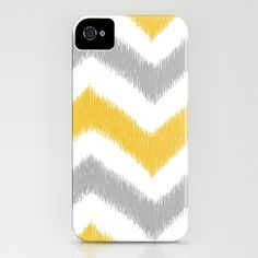 Chevron IKAT iPhone Case by Patty Sloniger - $35.00  no, THIS.