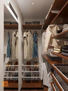 Фото дизайн гардеробной из проекта «Дизайн трехкомнатной квартиры 84 кв.м. в современном стиле, ЖК «Резиденс»»