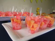 Fruit serving idea (Party food)