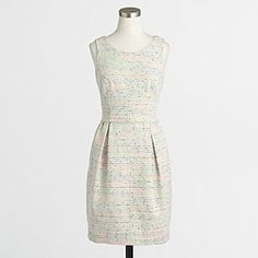 Factory tweed dress